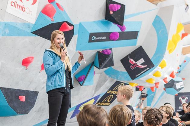 Nadia Hoffmann Marketing und PR Boulderwelt