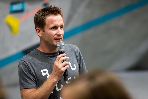 Markus Grünebach Inhaber und Geschäftsführer Boulderwelt