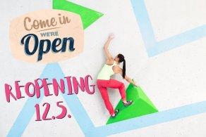 Reopening Boulderwelt München Süd S12.5.21 nach Lockdown