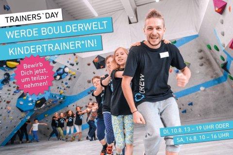 Trainer's Day in der Boulderwelt München Süd